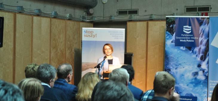 Ogólnopolska konferencja Stop suszy! Warszawa 2019