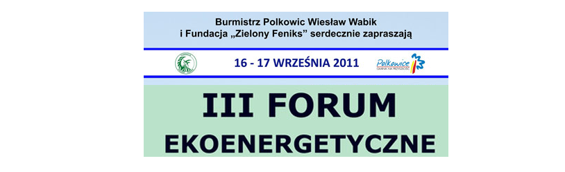 3 Forum Polkowice 2011