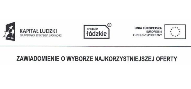 Wyniki zapytania ofertowego nr 5Z/POKL/8.1.1/2015