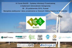 Plakat IV Forum BioGIS, dane LiDAR