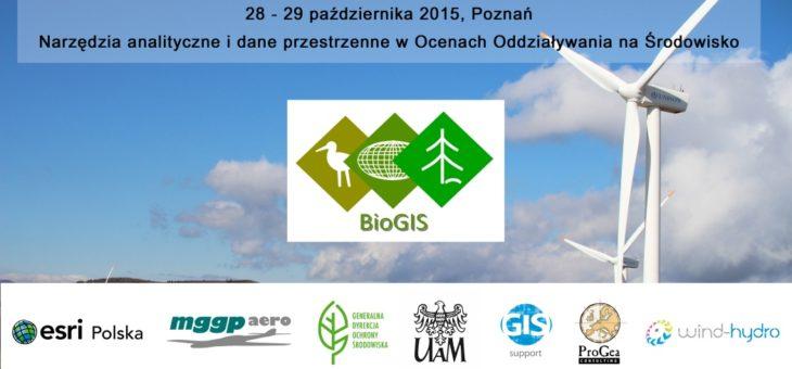 IV Forum BioGIS – Poznań 2015