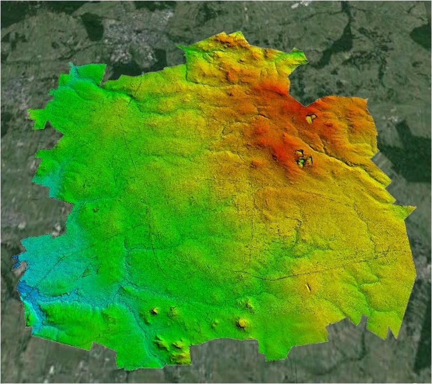 staż z metodami GIS i LiDAR transfer wiedzy