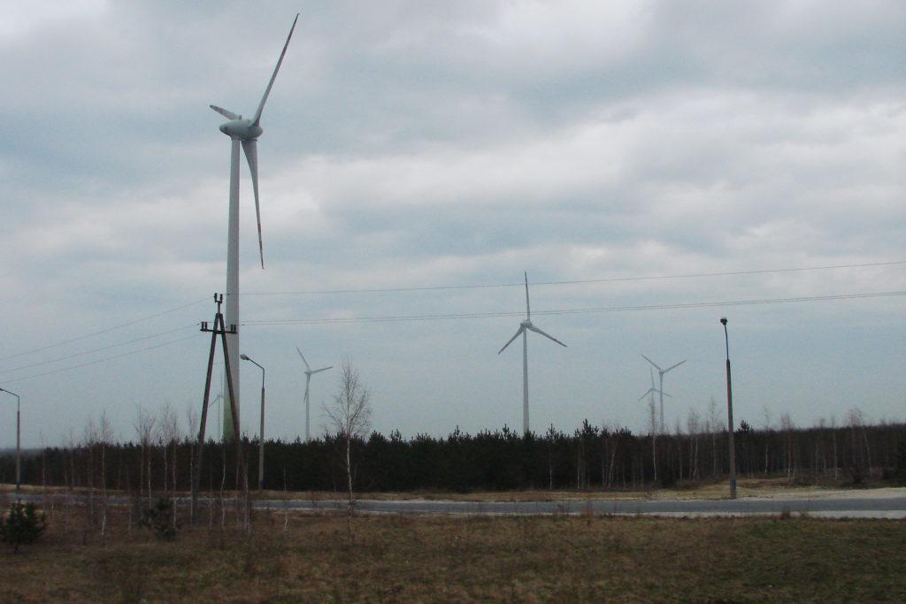 Farmy wiatrowej Góra Kamieńsk