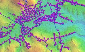 zobrazowanie danych GIS