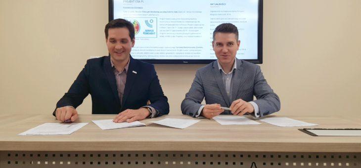 Współpraca w ramach projektu ESA z MPWiK w Skarżysku-Kamiennej