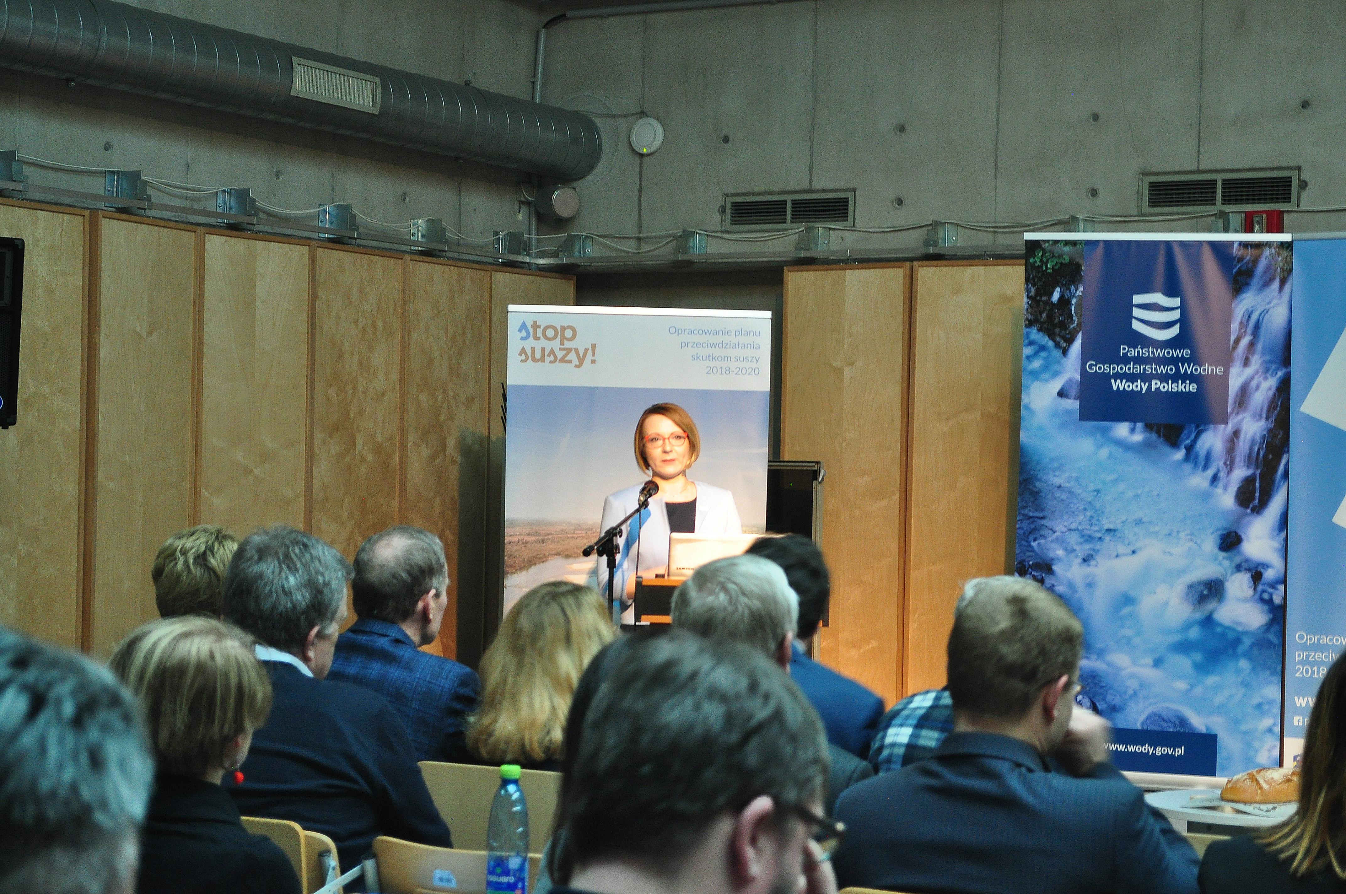 Stop suszy konferencja w Warszawie