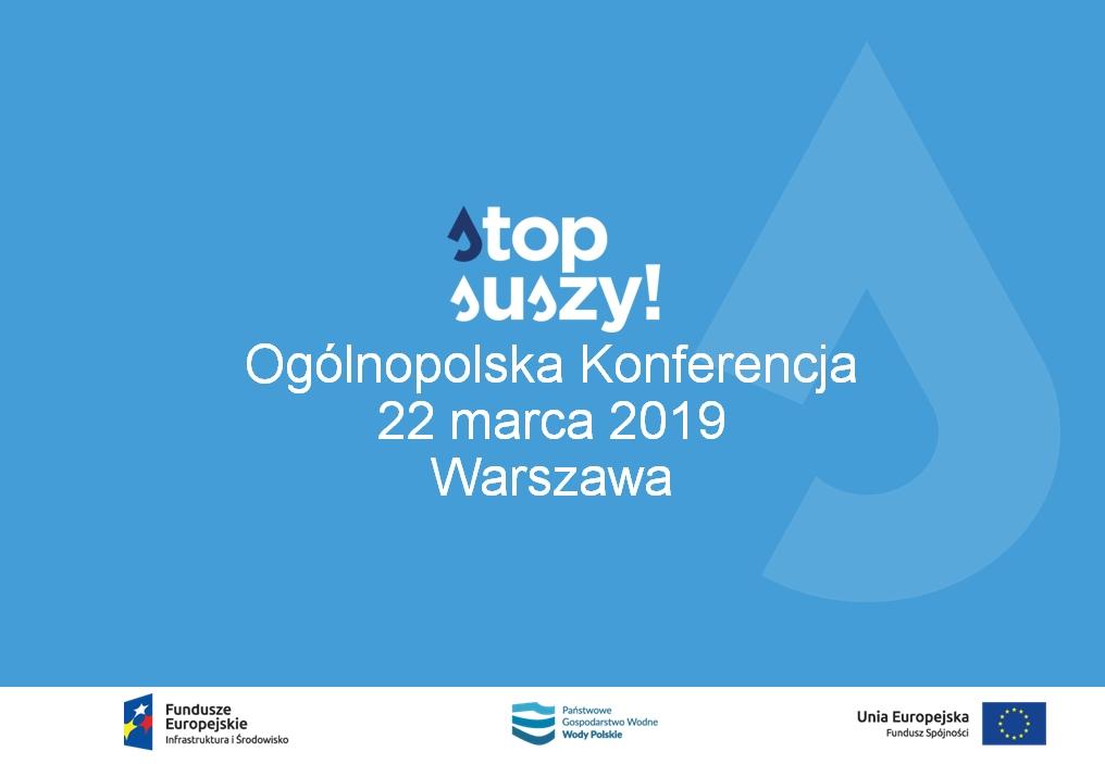 Stop suszy w Warszawie