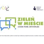 Zieleń w mieście Łodzi