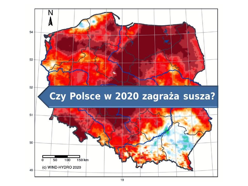 susza w 2020 Polsce