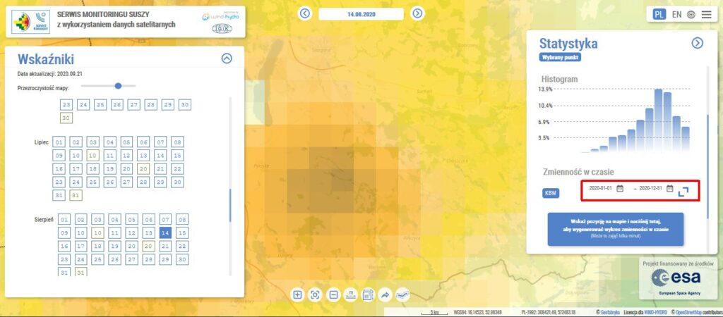 serwis monitoringu suszy