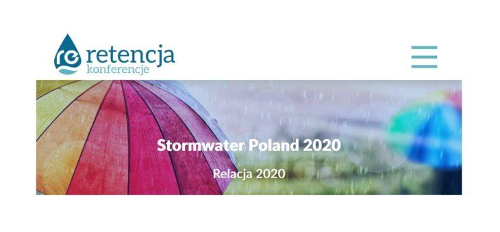 IV edycja Stormwater Poland. Gdańsk 3-5 marca 2020