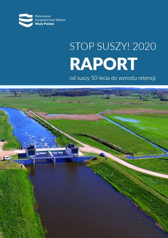 Raport Stop suszy za 2020, PGW Wody Polskie